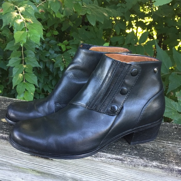 Ariat Shoes - Ariat Leather Snap Ankle Boots Spats Equestrian